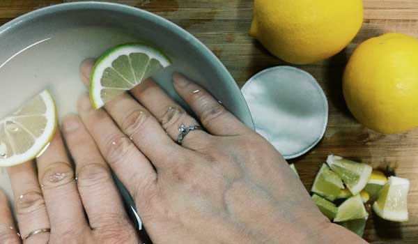 Lemon - Home Remedies for Brittle Nails