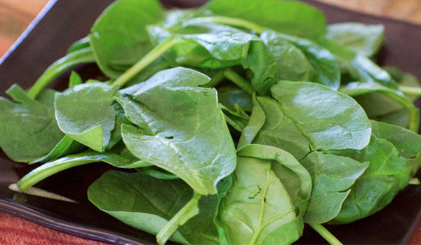 Spinach reduces inflammation - Health Benefits of Spinach