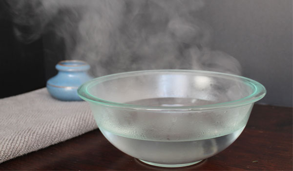 Steam - Home Remedies for Chest Congestion
