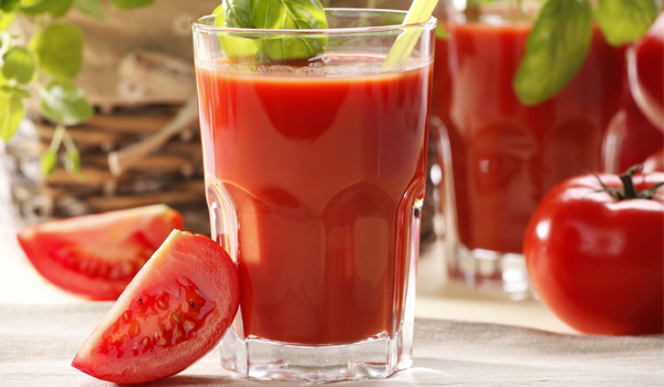 Tomato Juice - How To Get Smooth Skin