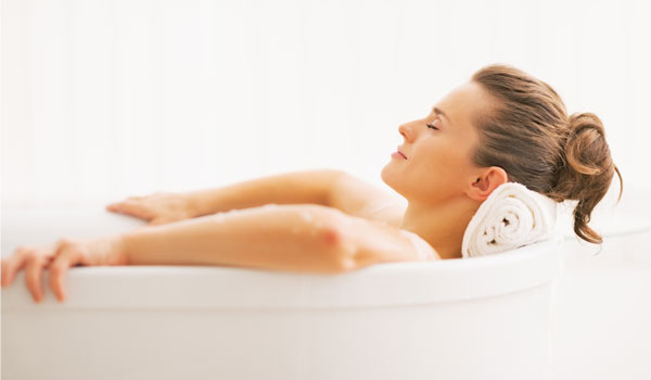 Warm Bath - Home Remedies for Panic Attacks