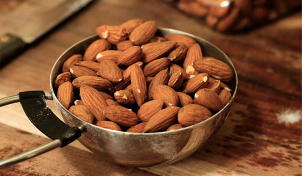 Almonds - Home Remedies for Whiteheads