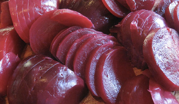 Beets used for detoxification - Health Benefits of Beets