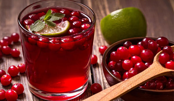 Cranberry Juice - Home Remedies for Kidney Infections