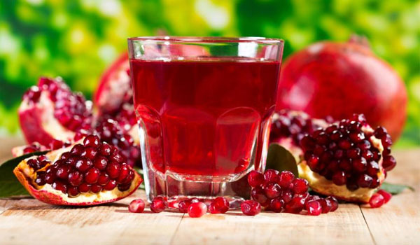 Pomegranate Juice - Home Remedies for Gastroenteritis