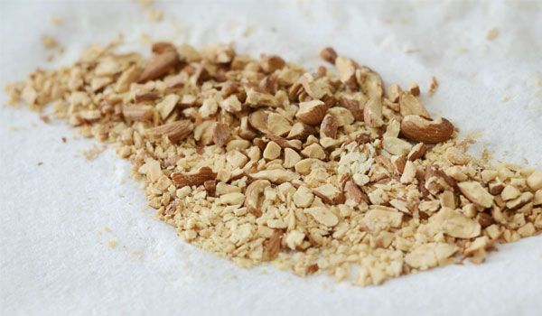 Crushed Almond - How to Get Rid of Dark Skin on Neck
