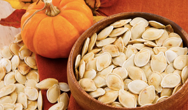 Pumpkin seeds - Top Superfoods for Hair
