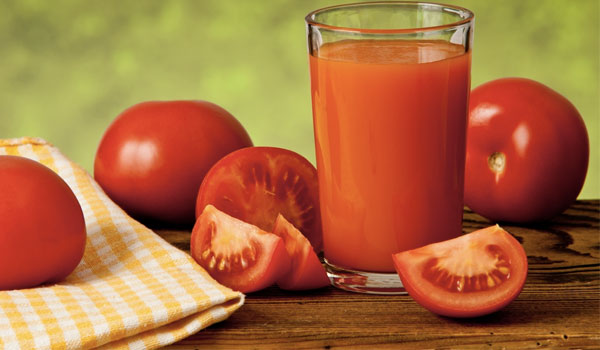 Tomato Juice - Home Remedies for Scalp Acne