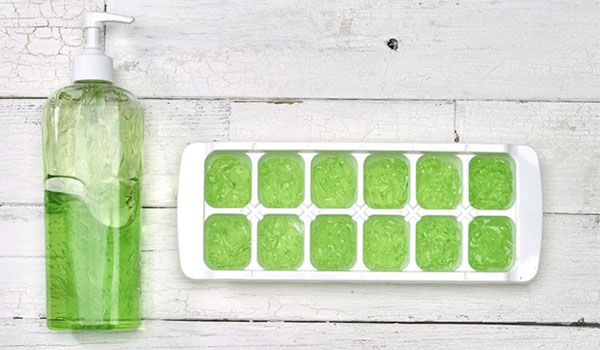 Aloe Vera Ice Cubes - How to Use Aloe Vera Plant