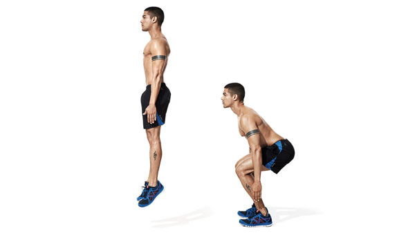 Jump Squats - How to Get A Bigger Butt