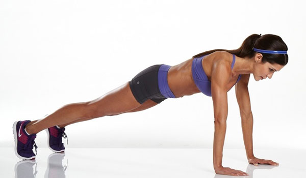 Rocking Plank - How to Get Rid of Back Fat Fast