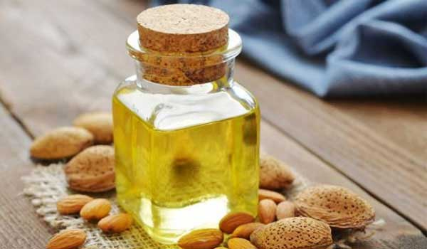 Almond-Oil-How to Straighten Hair Without Heat
