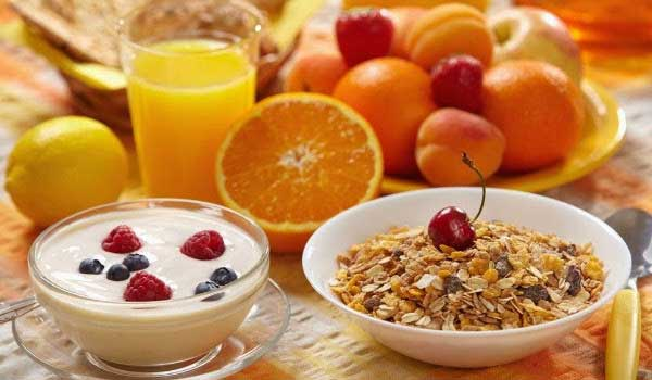 Eating breakfast - How to increase appetite