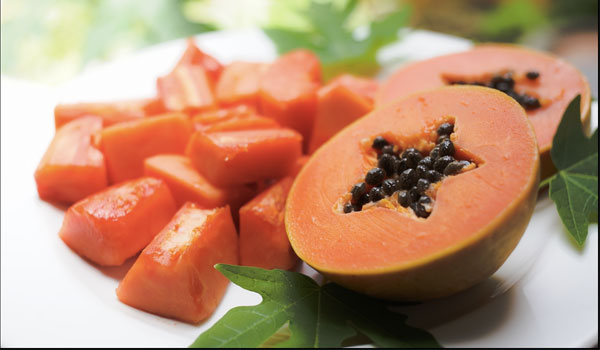 Papaya - Home Remedies for Peeling Skin