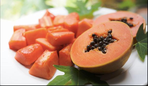 Papaya - Home Remedies for Peeling Skin