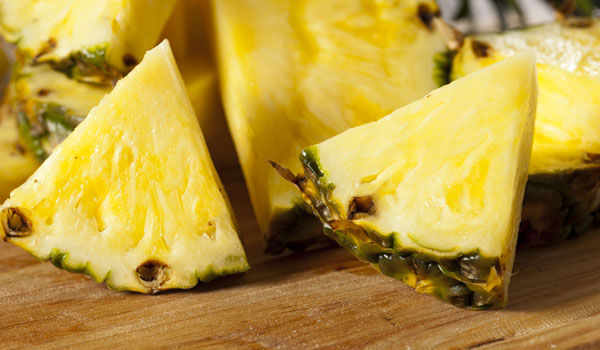 Pineapple-Home Remedies for Peeling Skin
