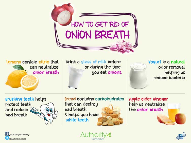 Onion Breath Natural Treatments – Top 6 Simple Tips (Infographic)