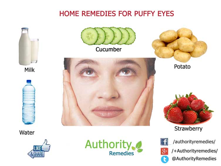 Puffy Eye Natural Treatments – Top 5 Simple Tips (Infographic)