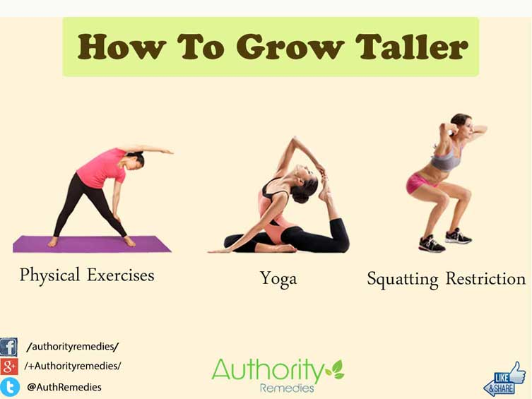 How to Grow Taller – Top 3 Simple Tips (Infographic)