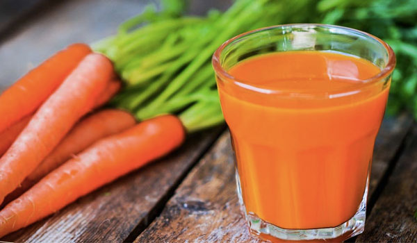 Carrot Juice - Home Remedies for Irregular Periods