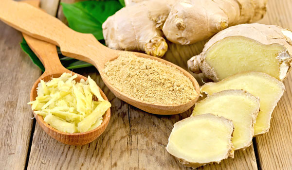 Ginger - Home Remedies for Ovarian Cysts