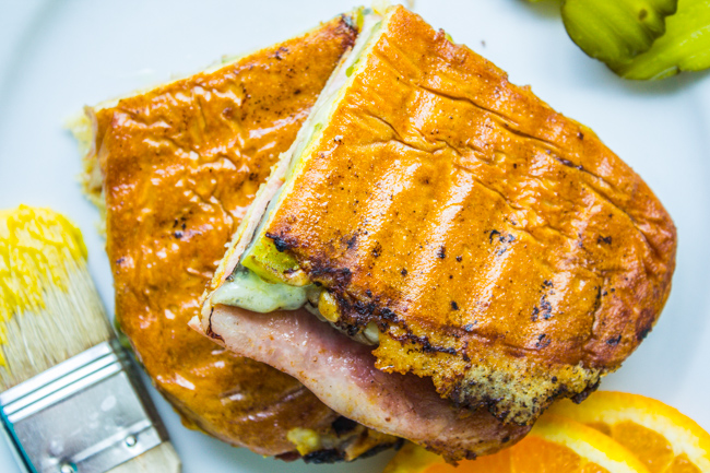 Lunch: Cuban Sandwich